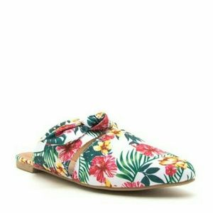 Shoes - New Women's Bow Mule Ballerina Shoes various sizes